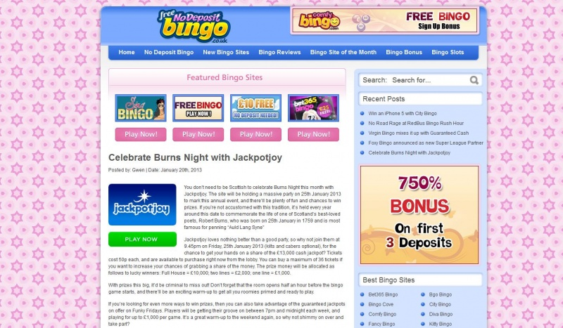 Daily Promotion Articles for Sunlight Bingo