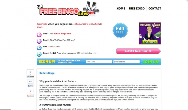 Bingo Site Reviews for UK Free Bingo Sites